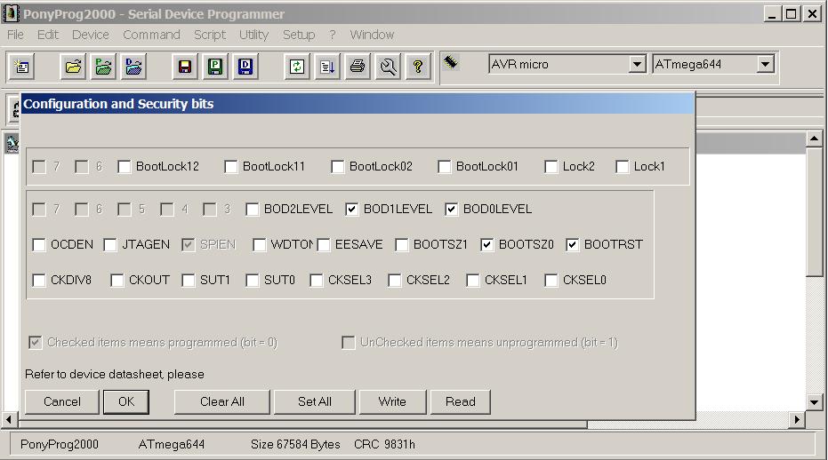 http://mc.mikrocontroller.com/images/kopter/Atemega644Fusebits.png